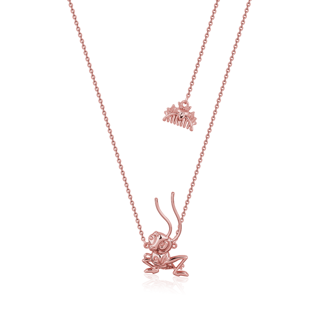 Couture Kingdom: Disney Mulan Cri-Kee Necklace Rose Gold