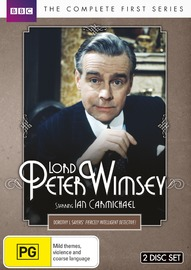 Lord Peter Wimsey: The Complete First Series on DVD