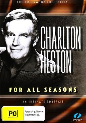 Charlton Heston - For All Seasons on DVD