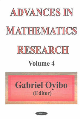 Advances in Mathematics Research