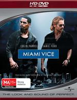 Miami Vice on HD DVD