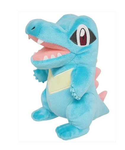 Pokemon: Totodile Stuffed Toy - Small image
