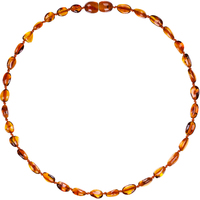 Bammeado Child Necklace Bean - Cognac (37cm)