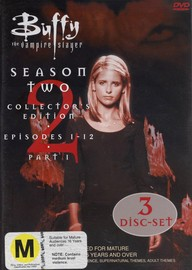 Buffy The Vampire Slayer Season 2 Vol 1 Collection on DVD