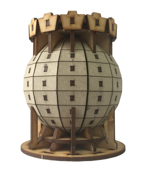 TTCombat: Tabletop Scenics – Sector 3 Sphere Silo image