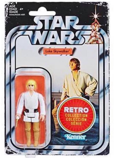 "Star Wars: Luke Skywalker - 3.75"" Retro Action Figure"