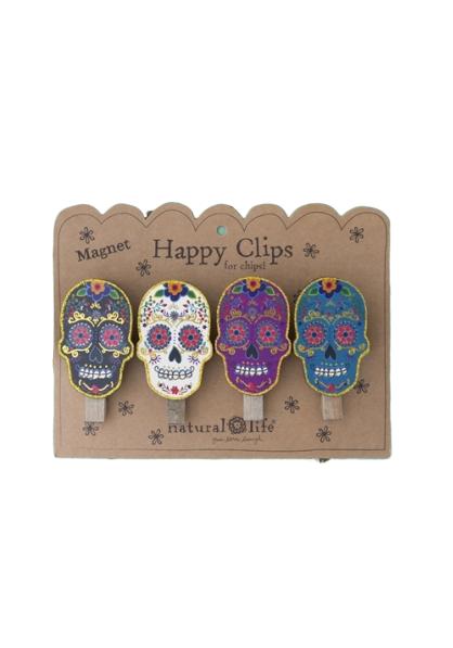 Natural Life: Happy Clips - Sugar Skull