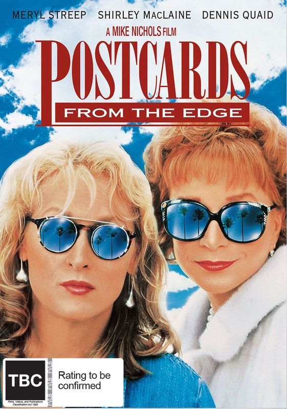 Postcards From The Edge on DVD