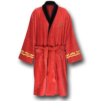 Star Trek Deluxe Bath Robe - Scotty (engineering red)