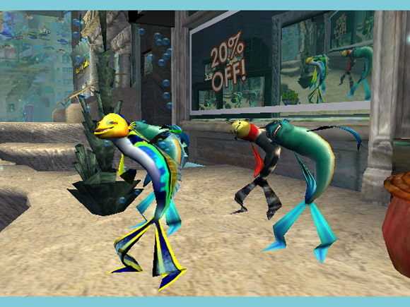 Shark Tale for PlayStation 2 image