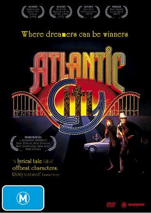 Atlantic City on DVD