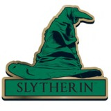 Harry Potter Slytherin Sorting Hat Badge