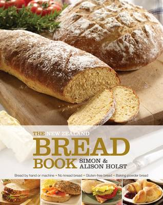 The New Zealand Bread Book by Alison Holst image