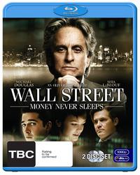 Wall Street: Money Never Sleeps (2 Disc Set) on Blu-ray