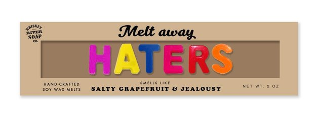 Whiskey River Co: Melt Away Wax Melts - Haters