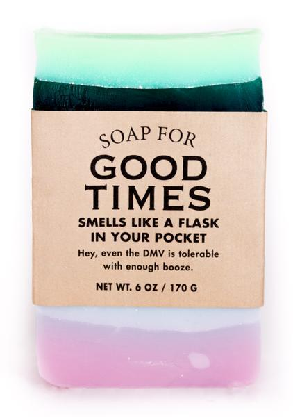 Whiskey River Co: Soap - Good Times