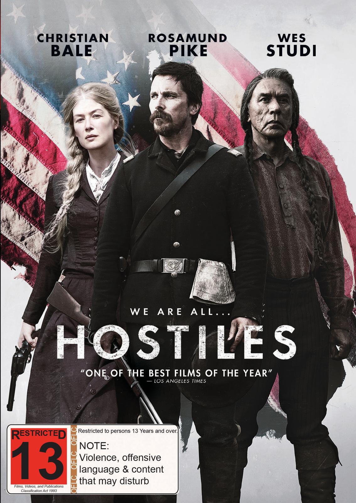 Hostiles on DVD image
