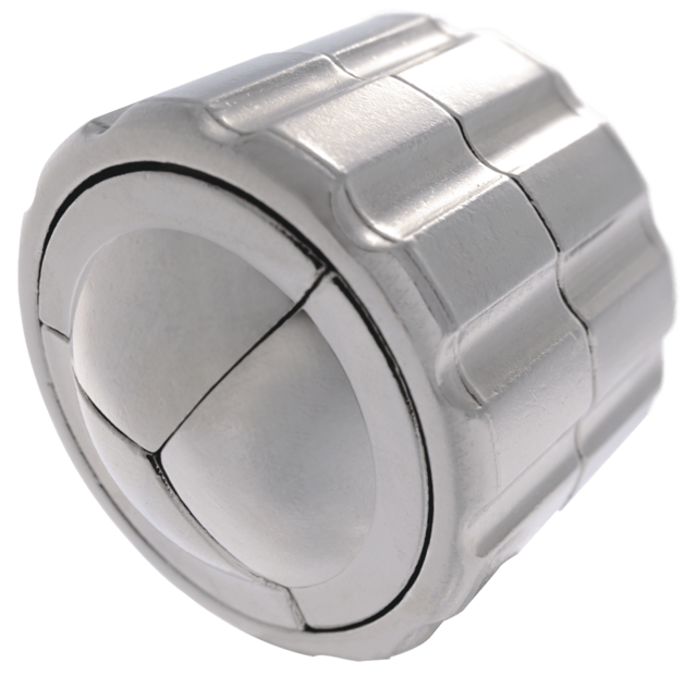 Huzzle: Cast Cylinder Puzzle