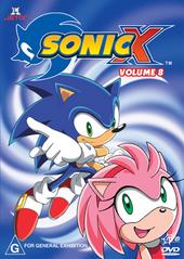 Sonic X - Volume 08 on DVD