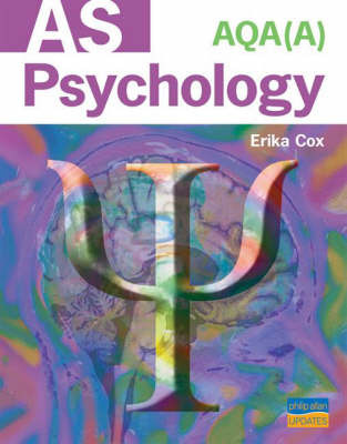 AQA (A) AS Psychology Textbook by E. Cox image