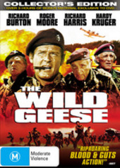 The Wild Geese on DVD
