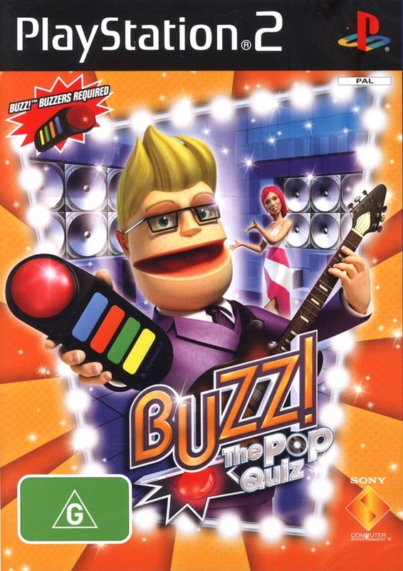 Buzz! Pop Quiz for PS2