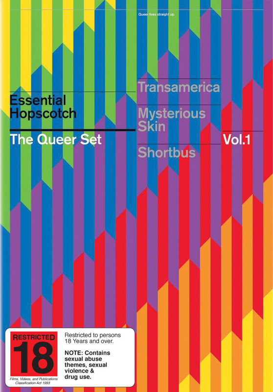 Essential Hopscotch - The Queer Set: Vol. 1 (3 Disc Set) on DVD