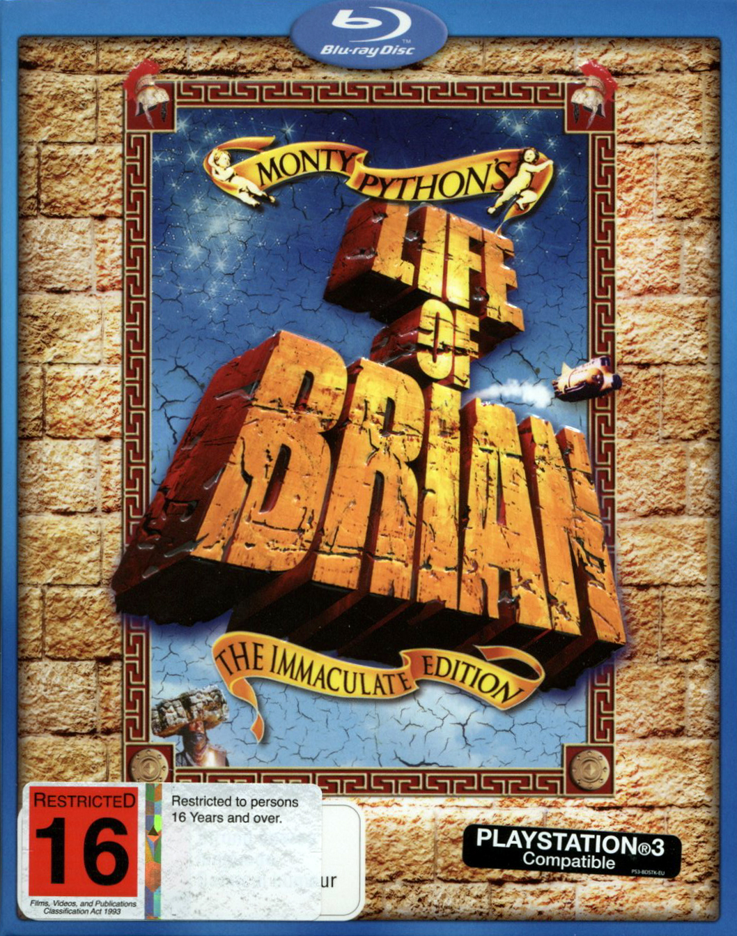 Monty Python's Life Of Brian - The Immaculate Edition on Blu-ray image