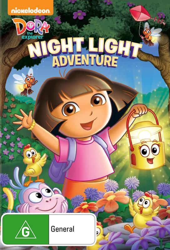Dora and Friends: Night Light Adventure on DVD