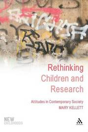 Rethinking Children and Research by Mary Kellet image