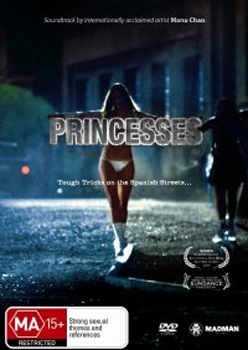 Princesses on DVD image