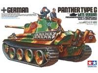 Tamiya 1/35 Panther Type G Late Version - Model Kit image