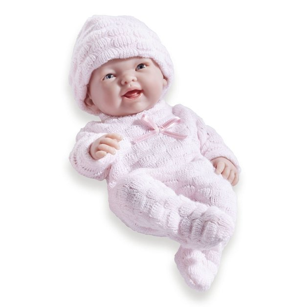 Mini La Newborn: Real Girl Baby Doll - Pink (24cm)