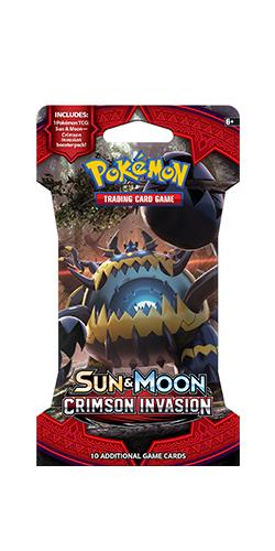 Pokemon TCG Crimson Invasion Single Blister (10 Cards) image