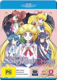 Sailor Moon: Crystal - Set 3 (Eps 27-39) on Blu-ray