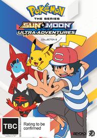 Pokemon The Series: Sun & Moon - Ultra Adventures Collection 2 on DVD