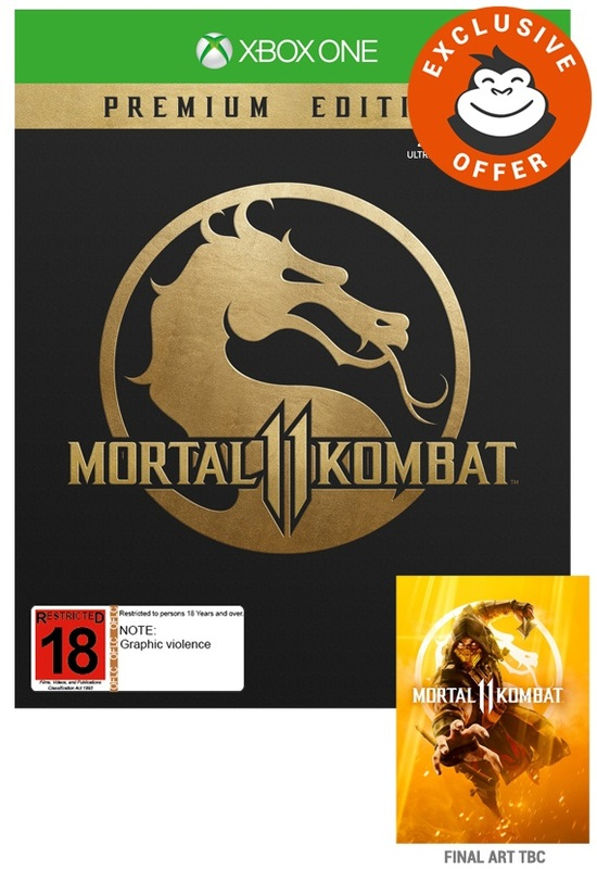 Mortal Kombat 11 Premium Edition for Xbox One