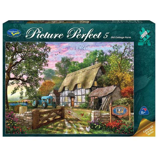 Holdson: 1000 Piece Puzzle - Picture Perfect 5 (Old Cottage Farm)
