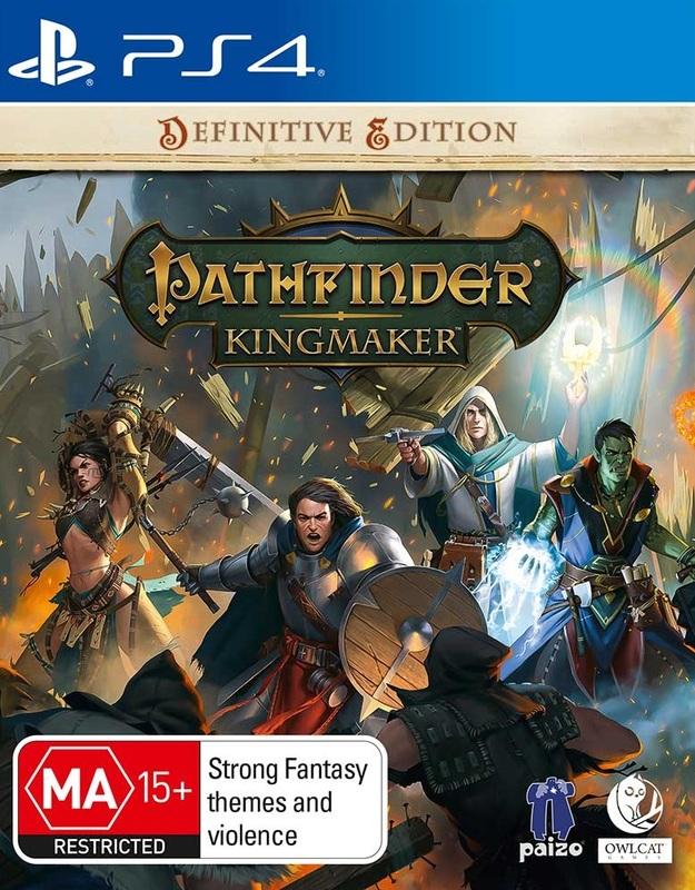 Pathfinder: Kingmaker Definitive Edition for PS4
