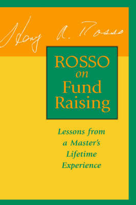 Rosso on Fund Raising by Henry A. Rosso image