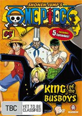 One Piece - Vol. 5: King Of The Busboys on DVD