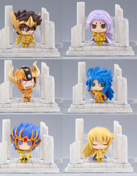 Saint Seiya Petite Chara Land 12 Zodiac Vol.1 Mini Figure (Assorted)