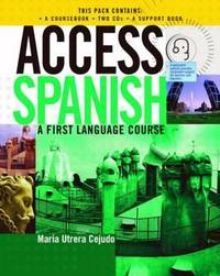 Access Spanish: CD Complete Pack by Maria Utrera Cejudo image