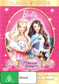 Barbie: The Princess And The Pauper on DVD image