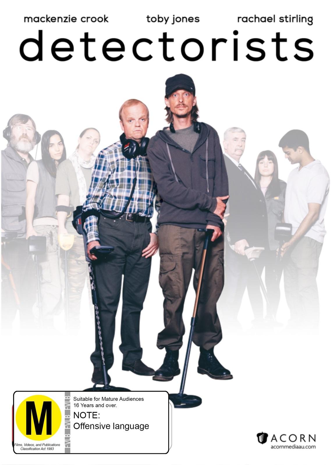 Detectorists (Season One) on DVD image