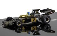Scalextric: Legends Team Lotus 72 (Black/Gold)