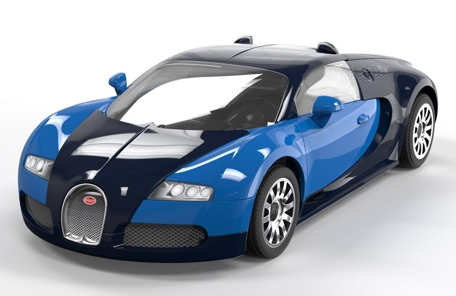 airfix quick build bugatti veyron model kit at mighty. Black Bedroom Furniture Sets. Home Design Ideas