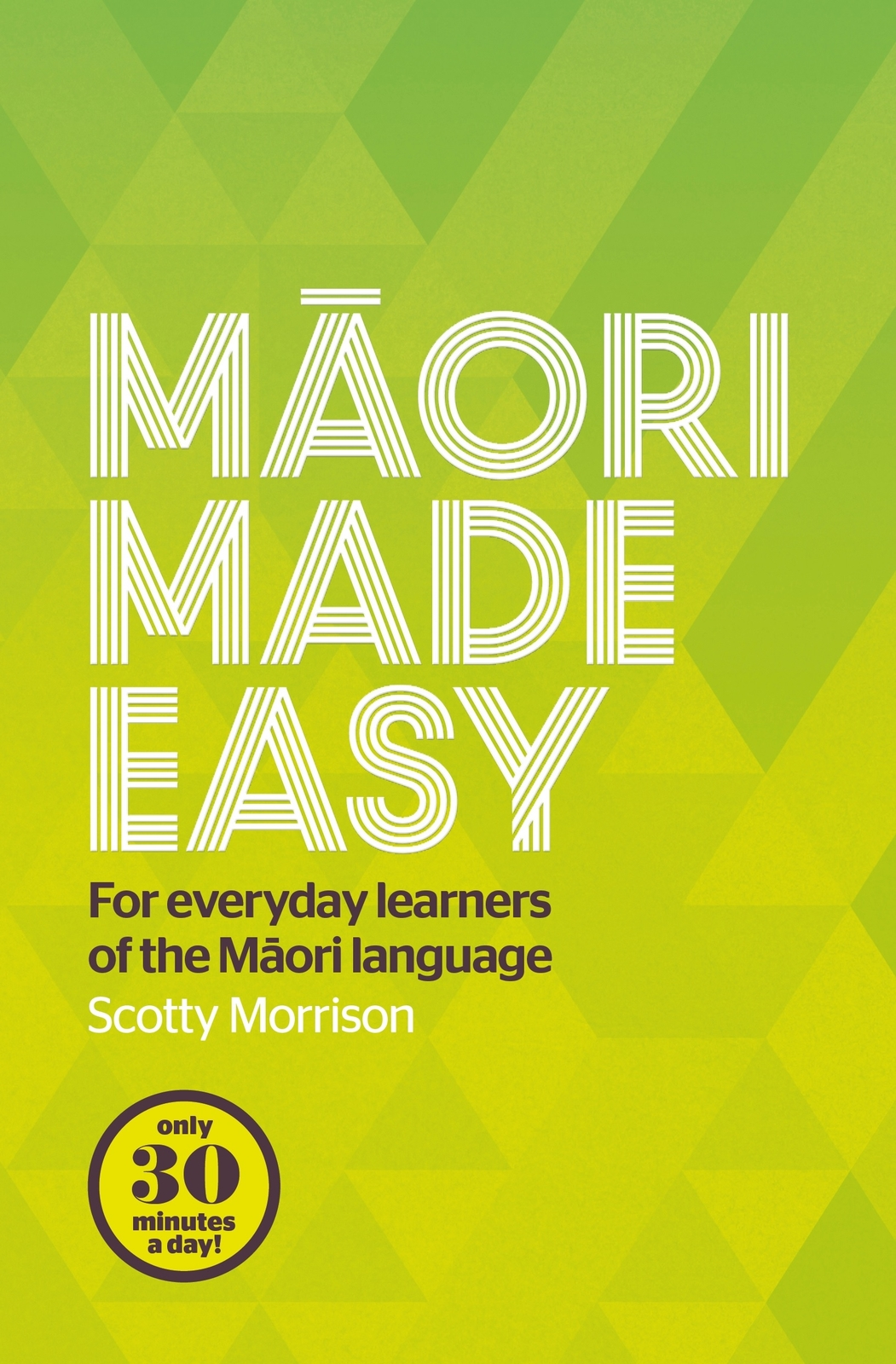 Maori Made Easy by Scotty Morrison image