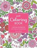 Posh Adult Coloring Book: Cats and Flowers for Fun & Relaxation by Susan Black