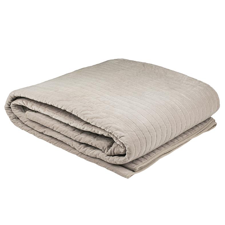 Bambury Cotton Velvet Blanket (Ash) image